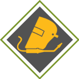 Welding Protective Gear Icon